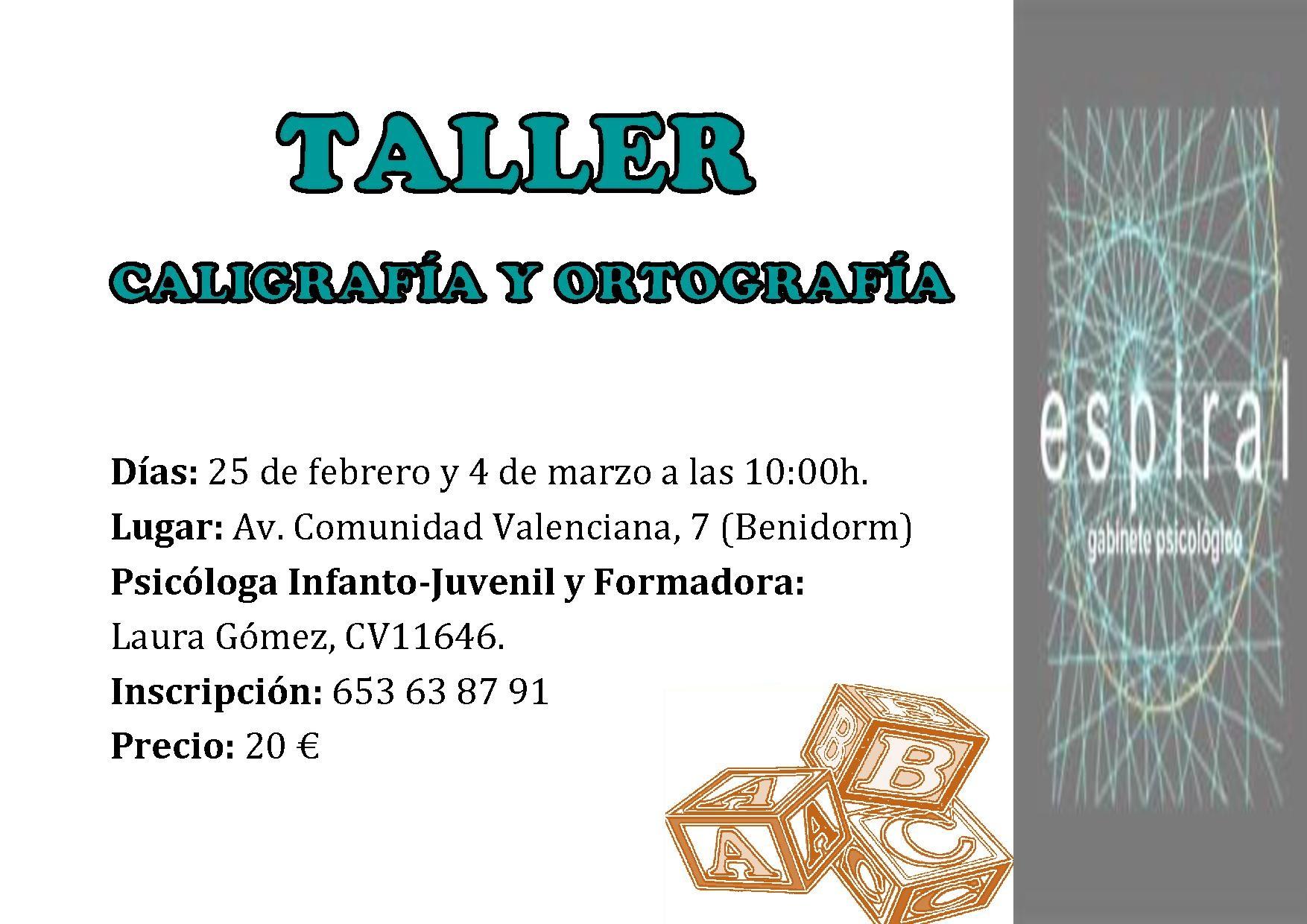 TALLER_CALIGRAFIAYORTOGRAFIA_ESPIRAL